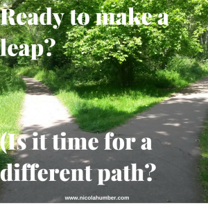 Ready to make a leap_(Is it time for a different