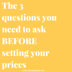 The 3 questions you need to ask BEFORE