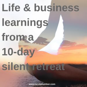 Learnings from a 10-day silent retreat